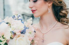 Pantone, Rose Quartz Serenity, Wedding Inspiration, Bridal, Beauty, Photos, Blue, Organization, Newlyweds