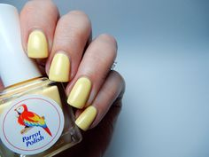 Parrot Polish - Cool Summer Collection - Honey Peach