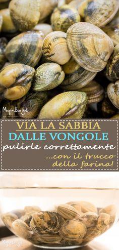 Far spurgare le vongole… con il trucco! - Beauty Make-Up Antipasto, Fish And Seafood, Original Recipe, Burritos, My Favorite Food, Seafood Recipes, Finger Foods, Italian Recipes, Love Food
