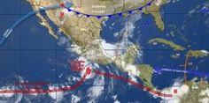 Se forma la tormenta tropical Dora frente a las costas de Guerrero