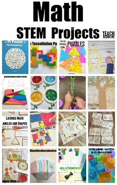 Awesome Elementary STEM projects for homeschool! If you need STEM projects ideas, this is THE place to go! This is a collection of over 200 STEM projects and activities that kids love! Stem Projects For Kids, Stem For Kids, Math Projects, Projects For School, School Ideas, Math Stem, Stem Science, Science Experiments, Stem Preschool