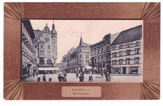 Forst Lausitz, Berliner Platz, um 1908