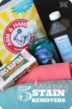Check out these 5 Amazing Ways to Remove Stains!