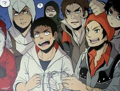 [AC/T/P/IF/COF] Altaïr, Desmond, Garrett, Alex, Delsin and Simon