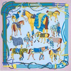 斜纹真丝方巾,100%真丝,手工卷边(90 x 90厘米)
