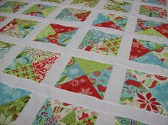 Holiday Quilt - Kate Spain's 12 Days of Christmas fabrics SOLD