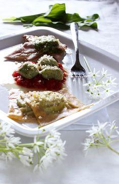 SaleQuBi: Trittico all'aglio orsino