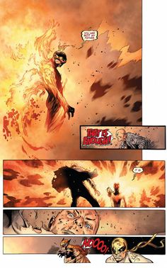 This was one of the biggest results from the Avenger VS X-Men event: Cyclops, possessed by the Phoenix Force, kills his father figure Professor X.  #cyclops #professorx #xmen #marvel