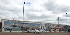 Mural in Edmond Oklahoma.