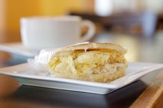Whether between brioche buns or wedged into a biscuit, these morning sandwiches are worth waking up for. Places To Eat Breakfast, Breakfast Time, Best Breakfast, Start The Day, Best Places To Eat, Dallas, Breakfast Sandwiches, Fort Worth, Buns