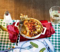 Dieser Gratin passt als Hauptspeise oder als Beilage: Die Apfel-Käse-Kruste macht ihn zu einem besonderen kulinarischen Leckerbissen.