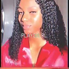 Boujee Aesthetic, Badass Aesthetic, Black Girl Aesthetic, Aesthetic Movies, Aesthetic Videos, Image Tumblr, Fille Gangsta, Curly Hair Styles, Natural Hair Styles