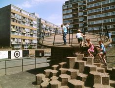 Britain's brutalist playgrounds – in pictures