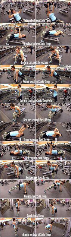Dumbbell Full Body Workout 2