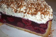 Dornfelder Kirsch – Kuchen – My WordPress Website Dessert Cake Recipes, Easy Cake Recipes, Sweet Desserts, Cheesecake, Sweet Cakes, Sweet And Spicy, No Bake Cake, Bakery, Food Porn