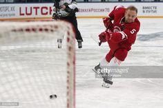 01-27 UFA, RUSSIA - JANUARY 21, 2017: HC Vityaz Podolsk's... #podolsk: 01-27 UFA, RUSSIA - JANUARY 21, 2017: HC Vityaz Podolsk's… #podolsk
