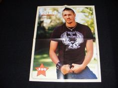 CHAD MICHAEL MURRAY magazine clippings lot No2 with POSTER | Books, Magazine Back Issues | eBay!