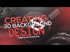 Cinema 4D and Photoshop - Creating 3D Modeled Backgrounds Tutorial