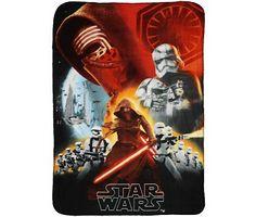 Star wars Fleece plaid the force awakens A 100x140cm