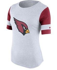 Women s Nike White Arizona Cardinals Stadium Fan Top f93a6f1555