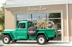 Shinola Bikes - Made in Detroit