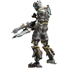 Dead Space - Dead Space 3 - Isaac Clarke Play Arts Kai Action Figure I wish I…