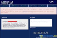 Notifikasi penutupan FocusLineSurveys di dasbor | SurveiDibayar.com