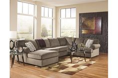 Dune Jessa Place 3-Piece Sectional View 1