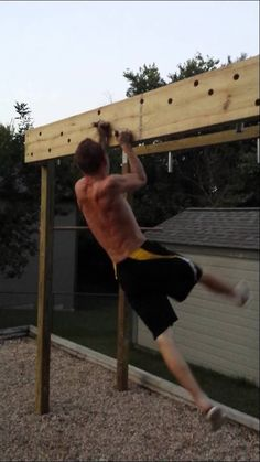 Ectomorph Workout – 3 Workout Secrets to Build Muscle For Skinny Ectomorphs Backyard Gym, Backyard Obstacle Course, Backyard Playground, Ectomorph Workout, Ninja Warrior Course, American Ninja Warrior, Diy Gym Equipment, No Equipment Workout, Outdoor Gym