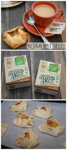 Have you baked with stevia before? Grab the recipe for these No Sugar Rustic Apple Tartlets made with #OrganicStevia #InTheRaw In The Raw SheSpeaks.com AD #apples #desserts #nosugar #sugarfree