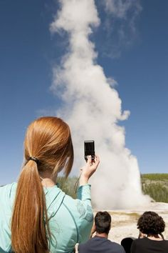 """Yellowstone National Park in Idaho, Montana, and Wyoming  In the Northwest corner of Wyomingsits Yellowstone's bubbling landscape of geysers, mud pots, and sulfurous vents. """"I have hilarious photos of my kids holding their noses because of the smell by Mammoth Hot Springs,"""" laughs Sara Kearsley of Portland, OR. They first visited when her kids were 7 and 8 years old, good ages to safely navigate boardwalks near geothermal features and to earn their Junior Ranger badges by soaking up ..."""