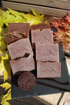 Cocoa Bean Handmade Soap. Ingredients include 100% Cacao and Cocoa Butter.  100% natural. www.facebook.com/winchestersoapcompany