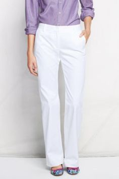 Women's Fit 2 Stretch Chino Trousers from Lands' End $59.00 IN REGULAR, PETITE, TALL, PLUS AND PETITE PLUS