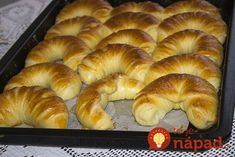Pamuk kiflice - najmekše kiflice na svetu! Pastry Recipes, Bread Recipes, Cooking Recipes, Serbian Recipes, Good Food, Yummy Food, Ice Cream Candy, Salty Snacks, Home Baking