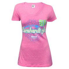 Dale Earnhardt Jr. Women's Gnarly Scoop Neck Tri-Blend T-Shirt - Pink - $37.99