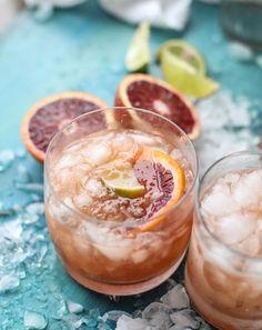 Blood Orange Tequila Fizz. | How Sweet It Is | Bloglovin'