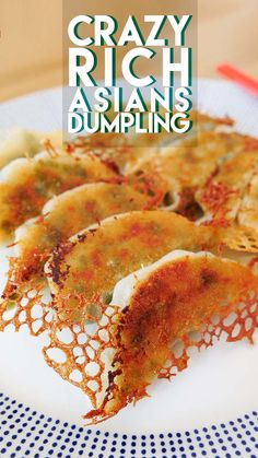 Crazy Rich Asians Dumpling Recipe & Video - Seonkyoung Longest The Effective Pictures We Offer You About asian recipes appetizer A quality picture can tell you many things. You can find the most beaut Authentic Chinese Dumpling Recipe, Asian Dumpling Recipe, Chinese Dumplings, Thai Dumplings, Korean Food, Chinese Food, Chinese Takeaway, Wan Tan, Frozen Dumplings