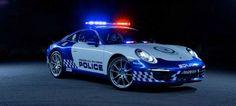 Australian Cops Got This Ominously Beautiful Porsche 911 Police Car