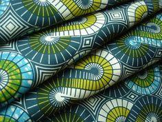 VLISCO Real Dutch Wax Block Print A1437 African Fabric Half Yard / Tela Africana