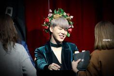 Jimin ❤ BTS at the Synnara Fansign #BTS #방탄소년단
