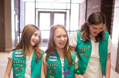 """Girl Scout Week is coming up fast! """"Girl Scout Sunday and Girl Scout Sabbath give girls an opportunity to attend their local place of worship and be recognized as a Girl Scout. Girls are encouraged to wear their uniforms and perform a service such as greeting, ushering or doing a flag ceremony. This week can also be a time when girls learn more about other faiths."""" - from Girl Scouts River Valleys"""