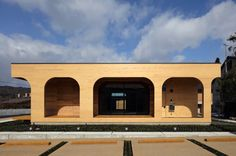 Completed in 2017 in Japan. Images by Kei Sugino. It is an office building that uses CLT(Cross Laminated Timber) as a structural and finishing material. Based on the three concepts of showing the...