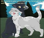 ShadepeltxWolfheart.... I got this couple from Warrior Cats Online. They're so cute! <3