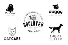 Check out Pet Logo Templates Bundle by vatesdesign on Creative Market