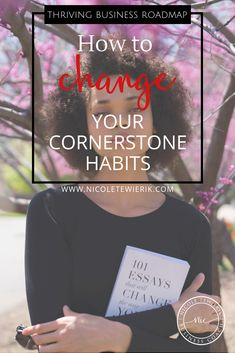 Did you know that your cornerstone habits can have a huge effect on your business? Learn how your unconscious habits could be holding you back and how you can change them. Business Coaching, Business Goals, Business Branding, Business Tips, Online Business, Sales And Marketing, Online Marketing, Design Your Life, Wonder Women