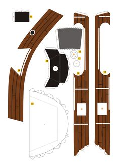 PaperToy - One Peace - Going Merry Part 01 006