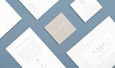LAKE Weekend Wear Identity Design | Nudge #identity #branding