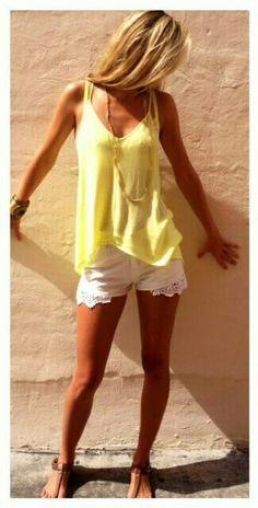 Cute summer #summer clothes style #cute summer outfits #summer outfits| http://mysummerclothes.blogspot.com
