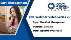 Kool Derby PMP / CAPM Webinar Series 20 on the topic Plan Cost Management   #PMP #CAPM #PMPExam #CAPMExam #PMPExamPrep #CAPMExamPrep #PMPTraining #CAPMTraining