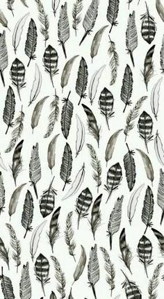 Find images and videos about black and white, wallpaper and pattern on We Heart It - the app to get lost in what you love. Et Wallpaper, Feather Wallpaper, Pattern Wallpaper, Iphone Wallpaper, Hipster Wallpaper, White Wallpaper, Cute Backgrounds, Cute Wallpapers, Wallpaper Backgrounds
